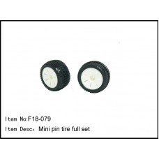 F18-079  Mini pin tire set of two