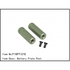 F18PT-016  Battery Plate Post