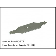 F8-0510-RTR  Main Chassis T6 6061