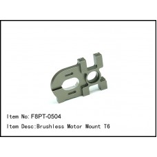 F8PT-0504  Brushless Motor Mount T6