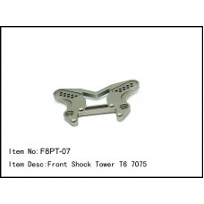 F8PT-07  Front Shock Tower T6 7075