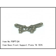 F8PT-24  Front Support Plate T6 7075