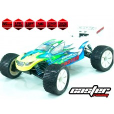 F8T-1.5 PRO  Caster Fusion 1/8th EP Truggy PRO-Clear Body (Special Order 2-3 weeks)