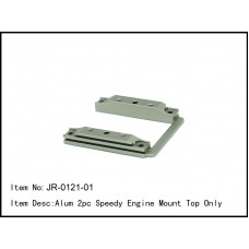 JR-0121-01  Alum 2pc Speedy Engine Mount Top Only