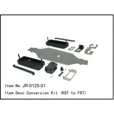 JR-0125-01  Conversion Kit (K8T to F8T)