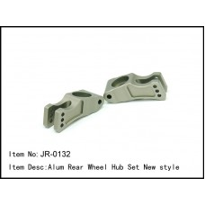 JR-0132  Alum Rear Wheel Hub Set New style
