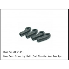 JR-0134  Steering Ball End Plastic New 7mm 4pc
