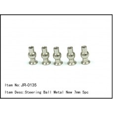 JR-0135  Steering Ball Metal New 7mm 5pc