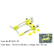 JR-0151-YE  Throttle/Brake Linkage Set,Yellow