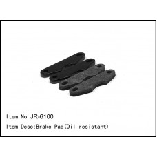 JR-6100  Brake Pad(Oil resistant)