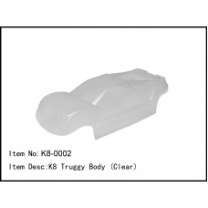 K8-0002  K8 Truggy Body (Clear)