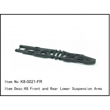 K8-0021-FR  K8 Front and Rear Lower Suspension Arms