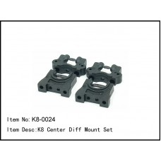 K8-0024  K8 Center Diff Mount Set