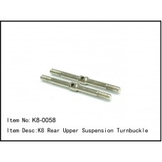 K8-0058  K8 Rear Upper Suspension Turnbuckle