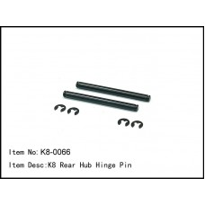 K8-0066  K8 Rear Hub Hinge Pin