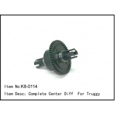 K8-0114  Complete Center Diff  For Truggy