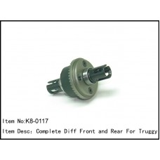 K8-0117  Complete Diff Front and Rear For Truggy