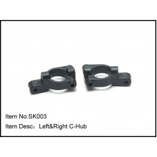 SK003  Left & Right C-Hub for 1/10 RTR Models
