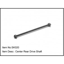 SK020   Center Rear Drive Shaft