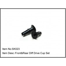SK023  Front&Rear Diff Drive Cup Set - Old Style