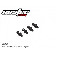SK151	1/10 4.5mm ball cups,4pcs