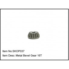 SKOP037  Metal Bevel Gear 16T for Ball Diff