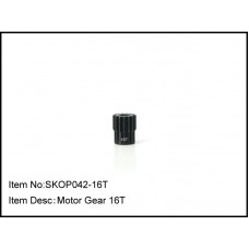 SKOP042-16T  Motor Gear 16T,48Pitch