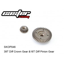 SKOP046	 39T Diff Crown Gear &16T Diff Pinion Gear