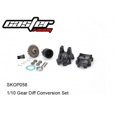 SKOP058  1/10 Gear Diff Conversion Set