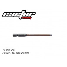 TL-024-2.5	 Power Tool Tips 2.5mm