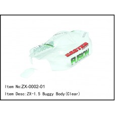 ZX-0002-01   ZX-1.5 Buggy Body(Clear)