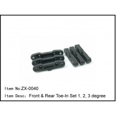ZX-0040   Front & Rear Toe-In Set 1, 2, 3 degree