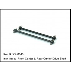 ZX-0045   Front Center & Rear Center Drive Shaft