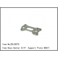 ZX-0073  Center Diff. Support Plate 6061T