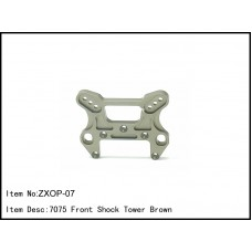 ZXOP-07  7075 Front Shock Tower Brown