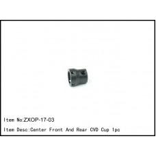 ZXOP-17-03  Center Front And Rear CVD Cup 1pc